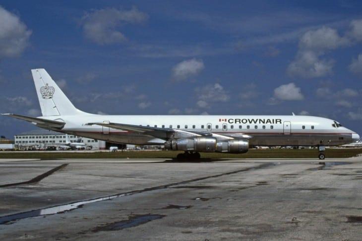 McDonnell Douglas DC 8 52 Crownair 1