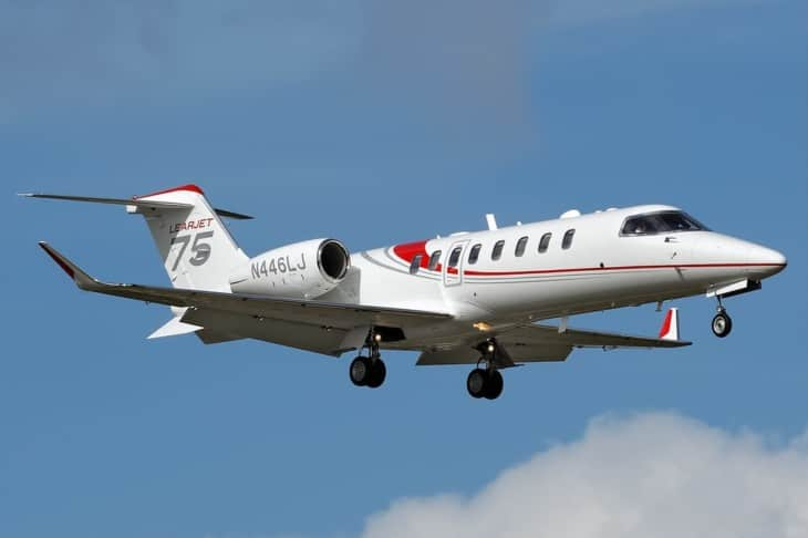 N446LJ Learjet 75