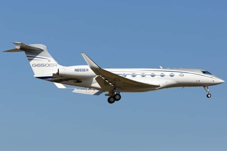 N650ER Gulfstream Aerospace G650ER