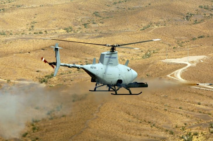 Northrop Grummans RQ 8 Fire Scout UAV