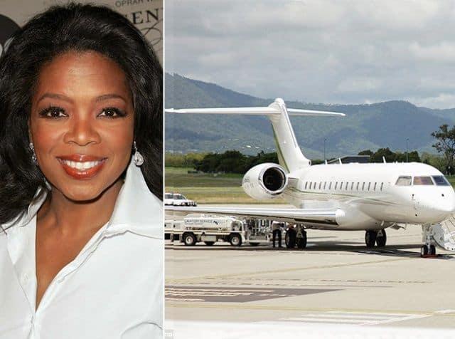 Oprah Winfrey Private Jet