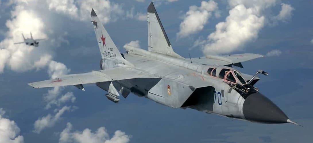 Russian Air Force Mikoyan Gurevich MiG 31