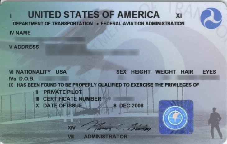 Sport Pilot Certificate
