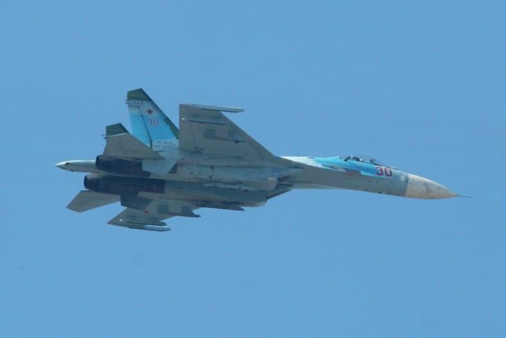 Sukhoi Su 27 Flanker