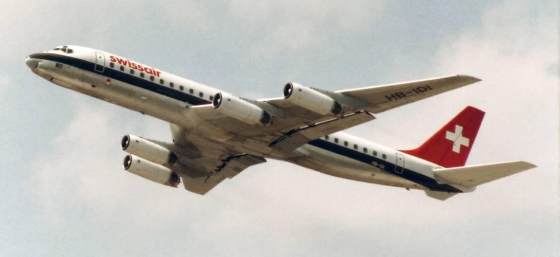 Swissair McDonnell Douglas DC 8 62