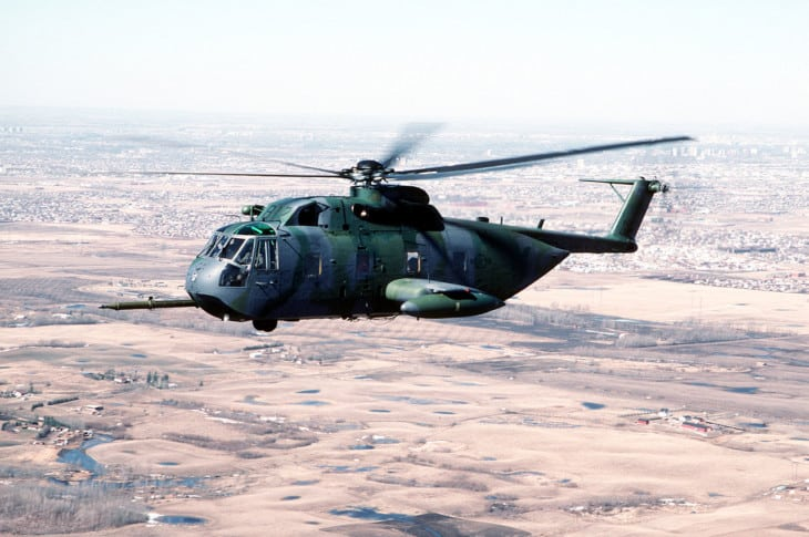 U.S. Air Force 71st Air Rescue Squadron Sikorsky HH 3E Jolly Green Giant