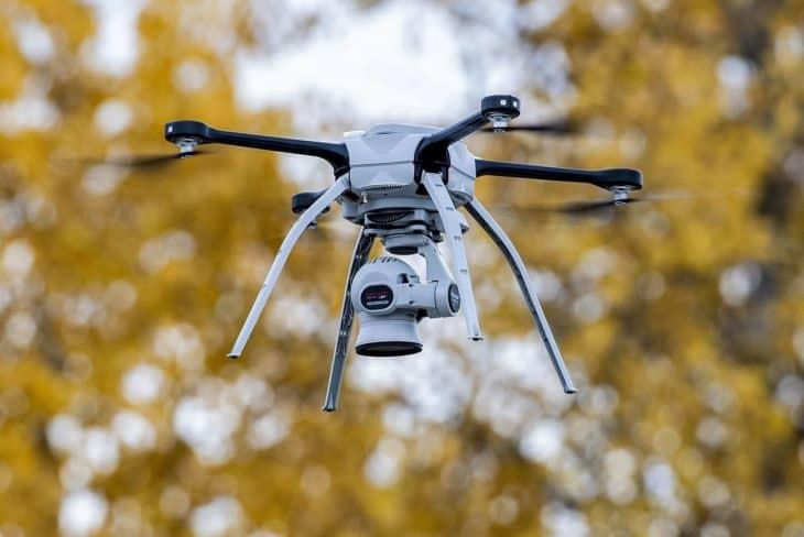 U.S. Air Force aerial intelligence drone