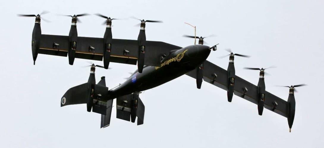 VTOL UAV prototype NASA