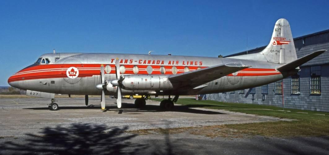 Vickers Viscount 757 Trans Canada Air Lines