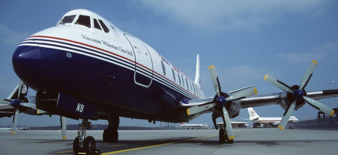 Vickers Viscount 802 British Air Ferries