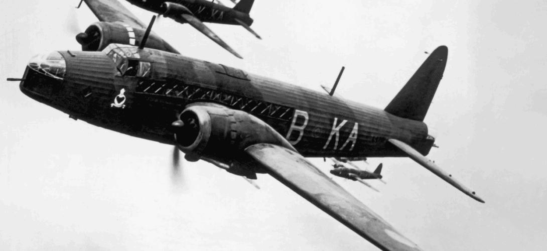 Vickers Wellington B.1 bomber