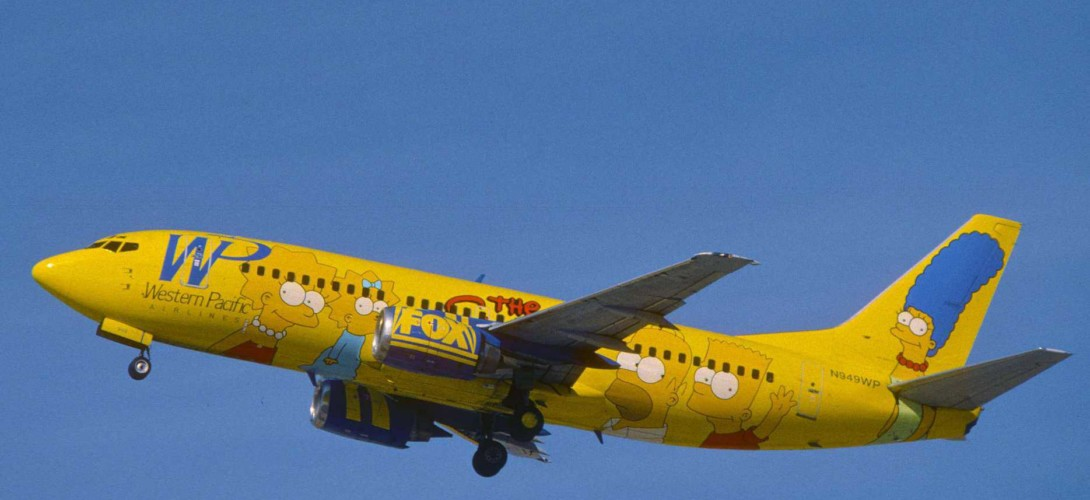 Western Pacific Airlines Boeing 737 300