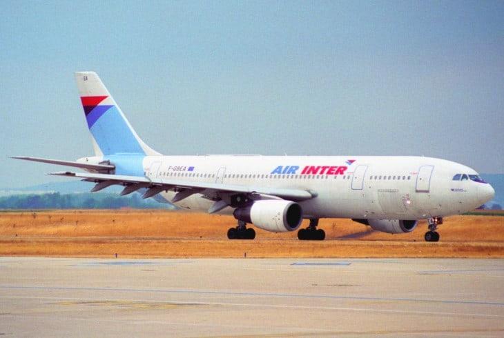 Air Inter Airbus A300B2 1C 1977