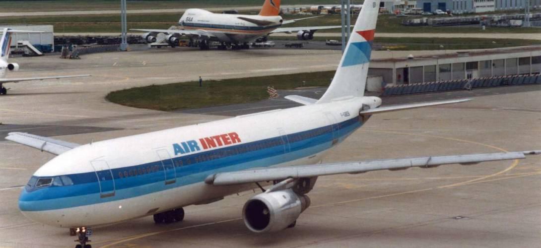 Air Inter Airbus A300B2 1C Paris France 1986