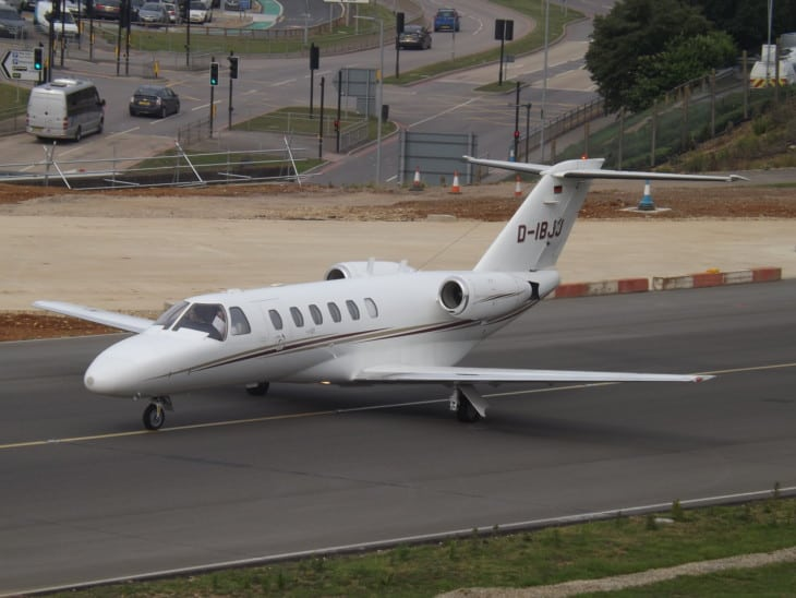 Cessna Citation CJ2 at Air Hamburg