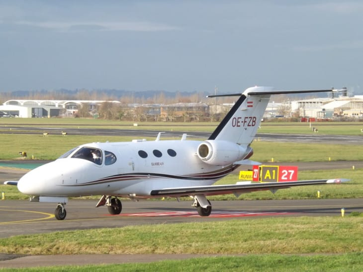 Cessna Citation Mustang 510 of GlobeAir