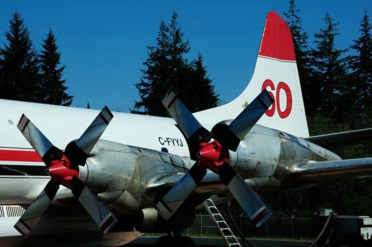 Conair Lockheed L 188AF Tanker Props