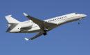 Dassault Falcon 8X departing Luton