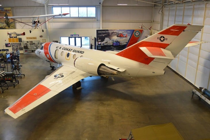 Dassault HU 25B Guardian at Aerospace Museum of California