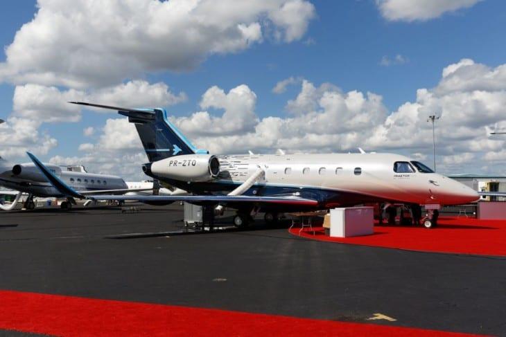 Embraer Praetor 500 at Orlando Executive Airport