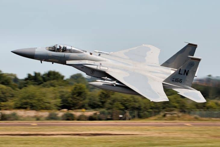F 15 Eagle RIAT 2017