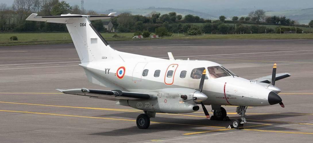 F TEYY Embraer 121 Xingu French Air Force