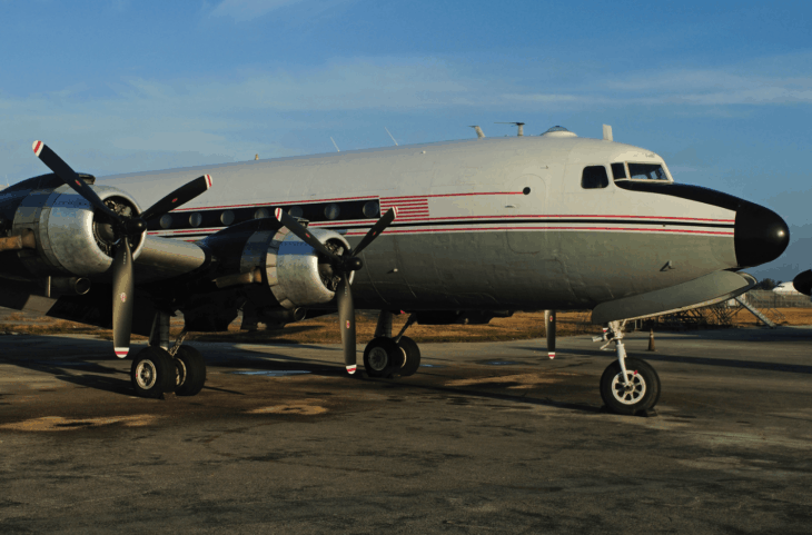 Florida Air Transport Douglas DC 4 at Opa Locka Airport