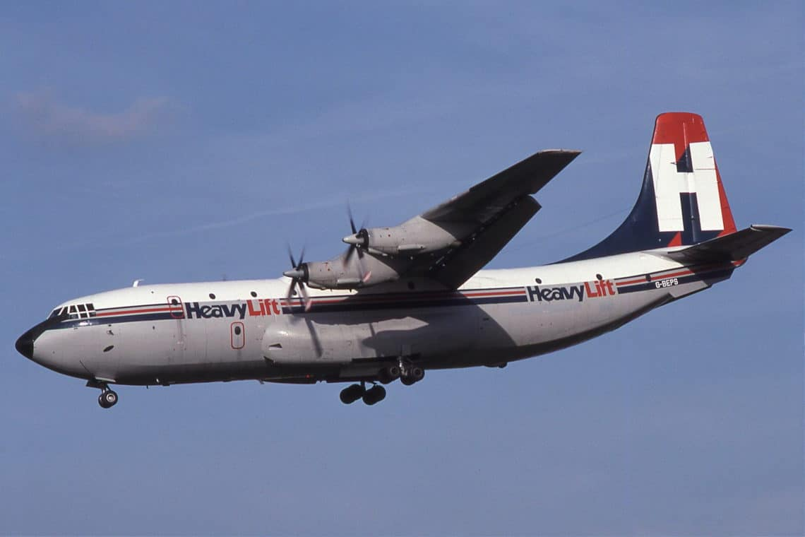 G BEPS Short SC.5 Belfast HeavyLift Cargo Airlines