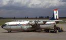 G BFYU Shorts Belfast C 1 HeavyLift Cargo Airlines at Duesseldorf International Airport