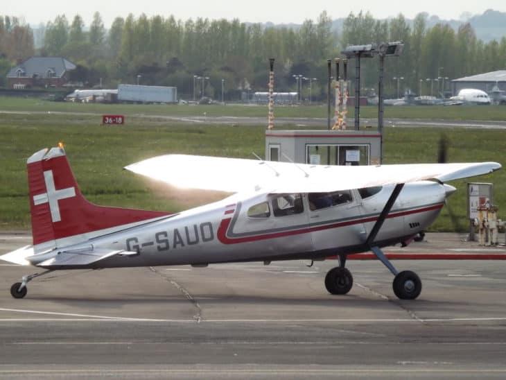 G SAUO Cessna Skywagon 185