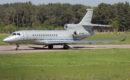 Gray Dassault Falcon 8X