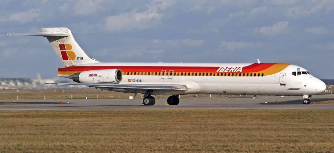 Iberia McDonnell Douglas MD 87