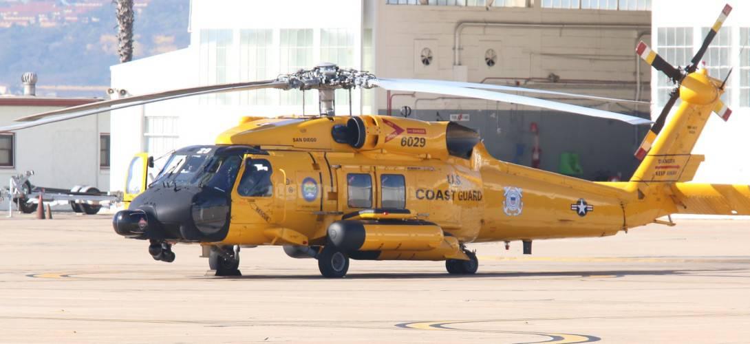 MH 60T Jayhawk 6029 SAN USCG