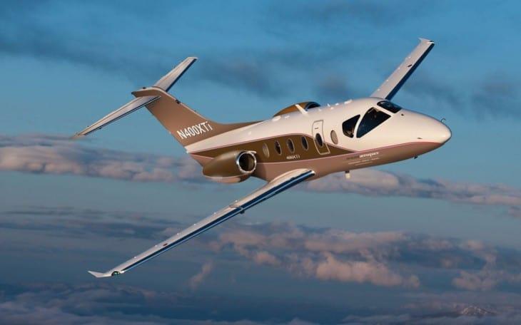 Nextant 400XTi flight