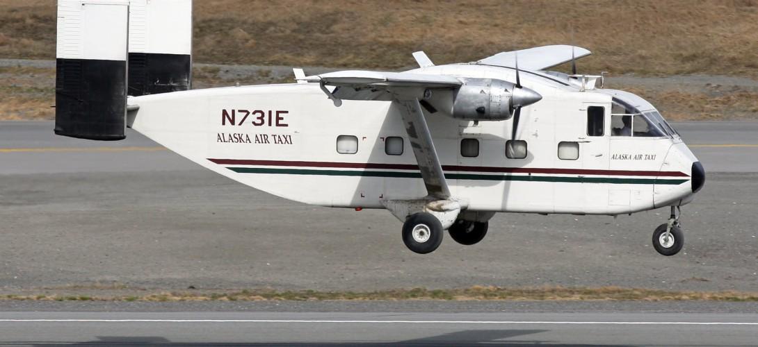 Short SC.7 Skyvan Alaska Air Taxi