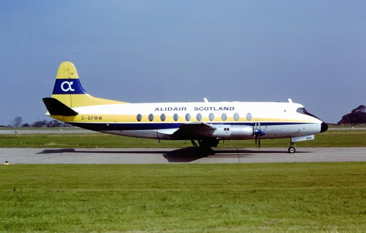 Vickers Viscount 735 Alidair Scotland