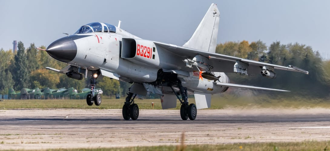 Xian JH 7 fighter bomber