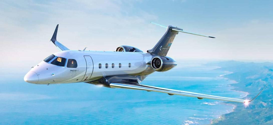 praetor 500 flight 1