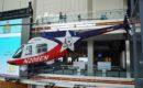 Bell 208B Jet Ranger on display in Washington DCs Newseum