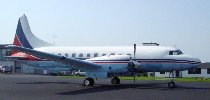 Convair 540 at Mid Atlantic Air Museum in Reading Pennsylvania