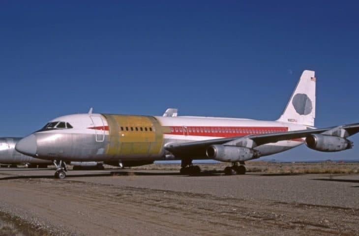 Convair CV 880 22 1 American Jet Industries Trans World Airlines TWA