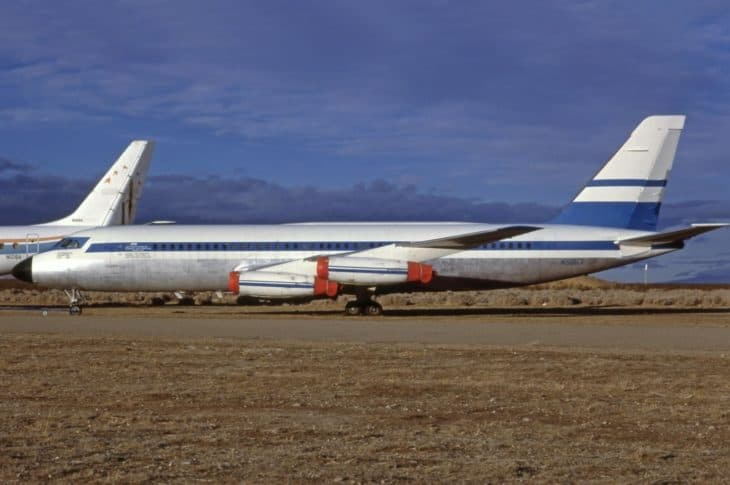 Convair CV 880 22M 3 FAA General Electric Co. Anti Misting Fuel Test aircraft