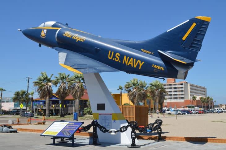 Douglas A 4B Skyhawk at USS Lexington Museum