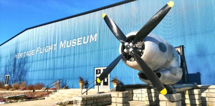Heritage Flight Museum Burlington