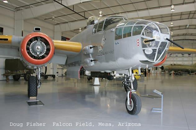 North American B 25 at Lauridsen Aviation Museum