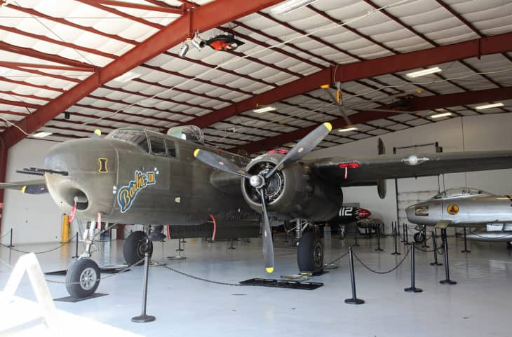 North American B 25H Mitchell at Cavanaugh Flight Museum