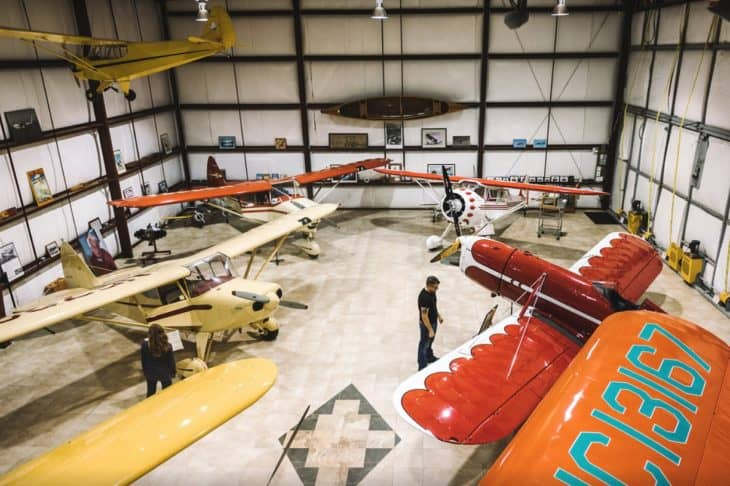 North Cascades Vintage Aircraft Museum Concrete