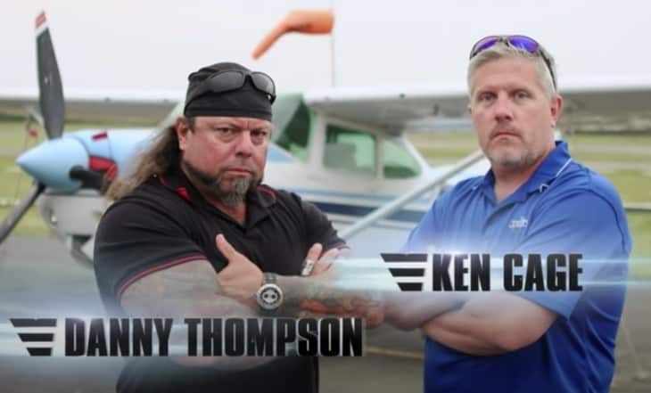 Airplane Repo Danny Thompson and Ken Cage