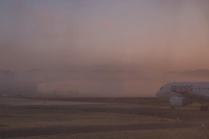 Foggy Morning at Airport