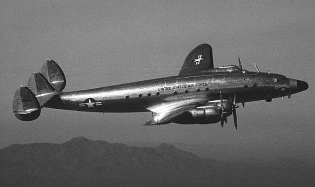 Lockheed C 121 Constellation Columbine II